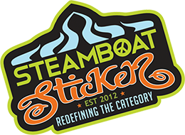 Steamboat Stickers Logo